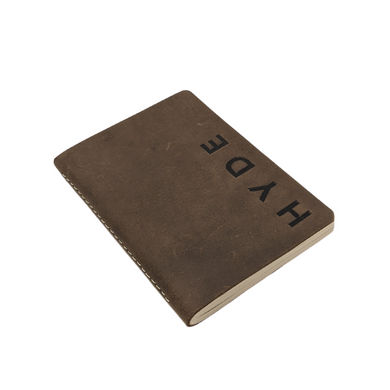 Hand-pressed Paper Rustic Leather Journal