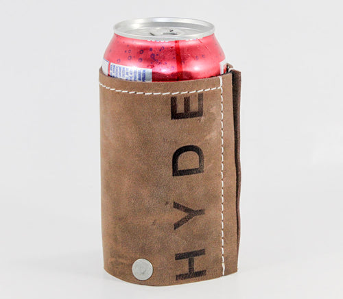 HYDE Artisan Leather Bottle Coozie