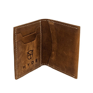 Leather Slim Wallet (Copper)