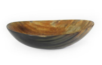 'SANCTUARY' HORN SERVING DISH