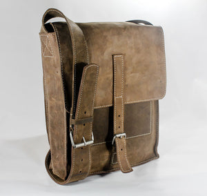HYDE MESSENGER BAG (FULL GRAIN LEATHER)