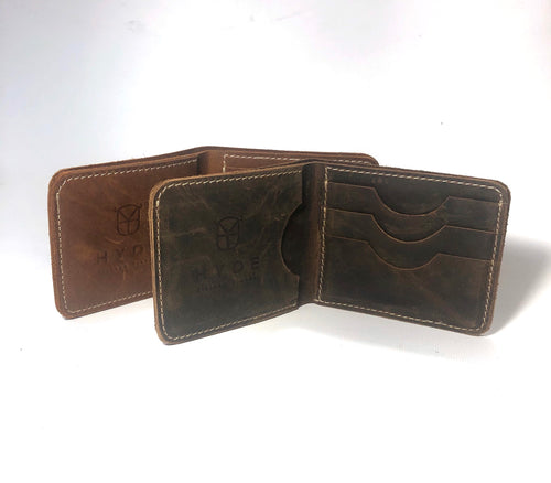 HYDE Artisan Leather Wallet