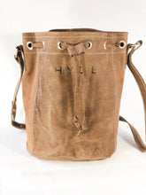 HYDE Artisan Leather Bucket Bag