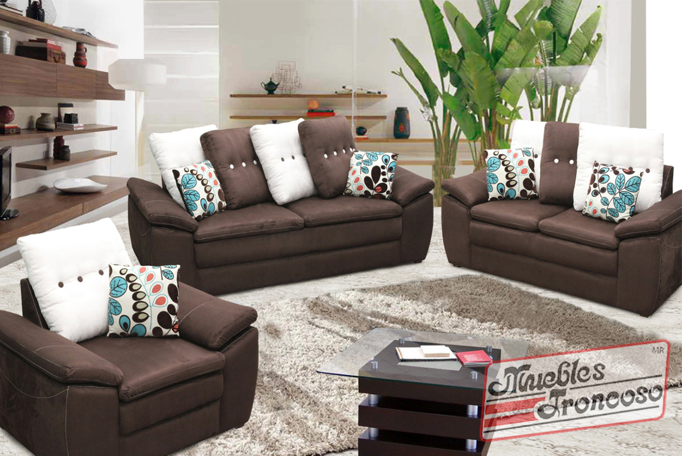 Sala Relax Chocolate Muebles Troncoso
