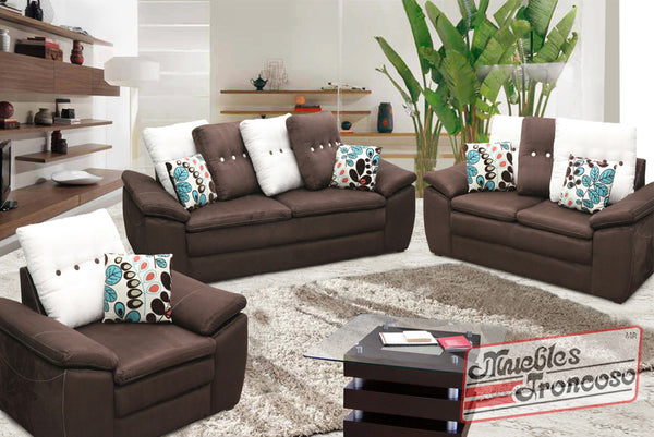 Sala relax chocolate muebles troncoso for Muebles troncoso salas