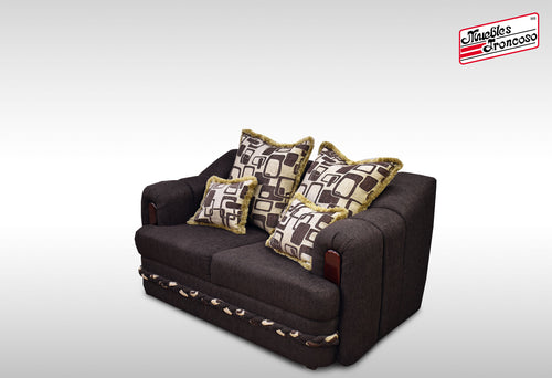 LOVE SEAT SIRIA CHOCOLATE