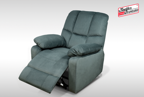 SILLON JERRY POWER RECLINER CHAIR GREY