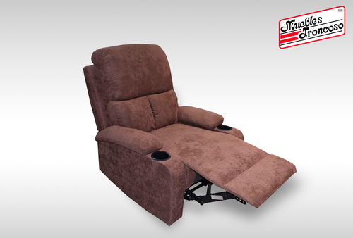 SILLON RECLINER 59547 CHOCOLATE