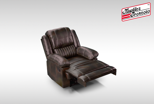 SILLON RECLINABLE BASA BROWN