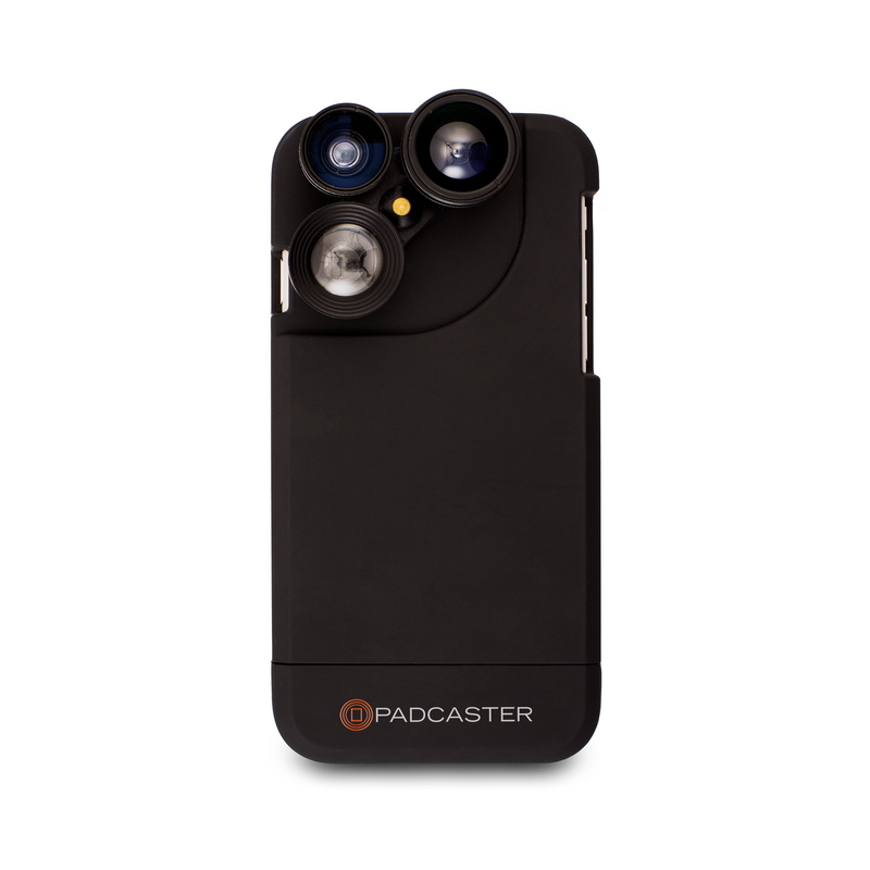 Padcaster iPhone 7/8 Four in One Lens Case