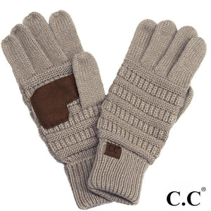 CC Gloves, Taupe