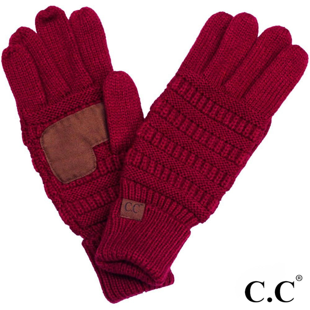 CC Gloves, Red