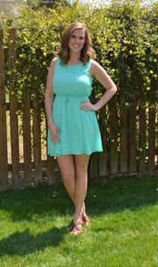 Fell For You Mint Dress