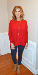 Simply Perfect PIKO Long Sleeve, Red