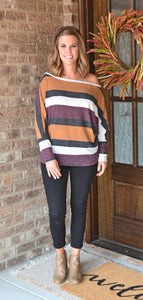 All About Fall Dolman Top
