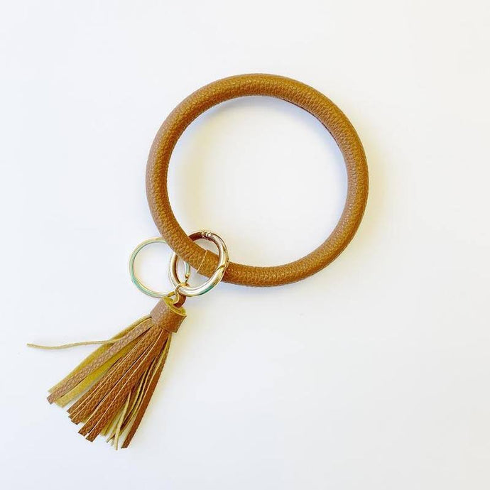 Key Chain Bangle, Camel