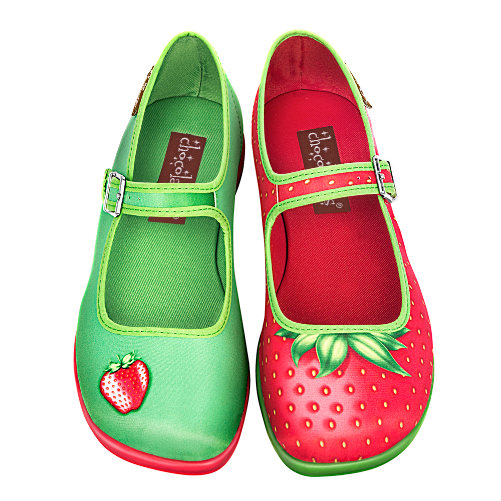 Chocolaticas® Strawberry Flat para Mujeres