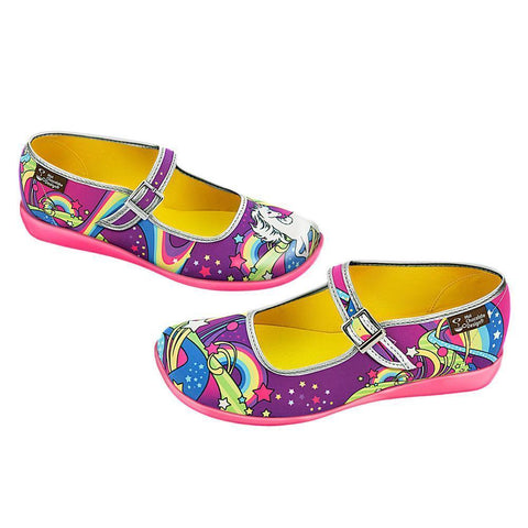 Chocolaticas® Lucy In The Sky Flat para Mujeres