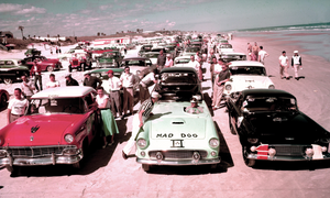 Original Daytona Races Were On the Beach