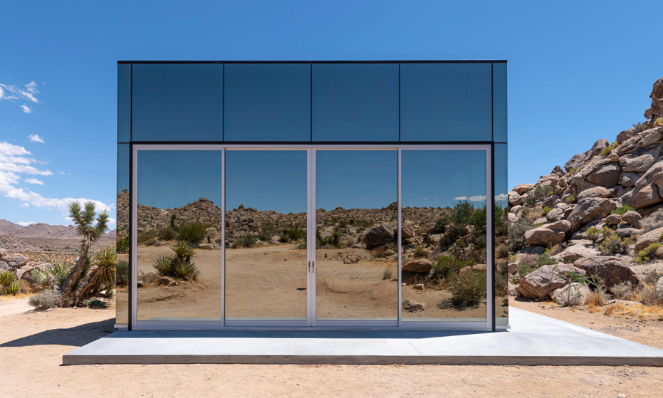 The Invisible Mirror House at Joshua Tree