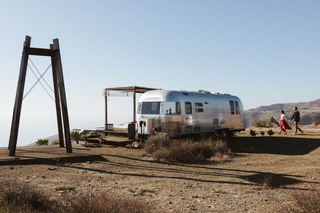 Live the dream in an Airstream trailer in Malibu, CA (Just long enough to beef up your Instagram profile)