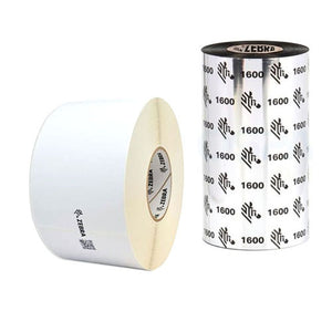 Kit Media Zebra Etiqueta y Ribbon