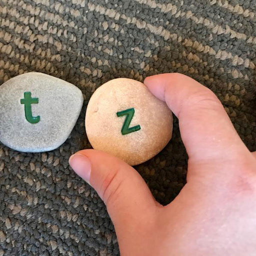 Lowercase Alphabet Pebbles Sets