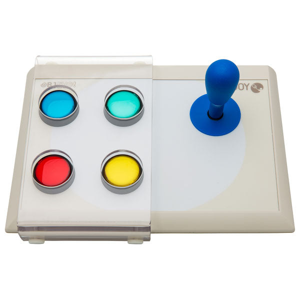 BJOY Stick - four buttons with microswitch joystick and keyguard