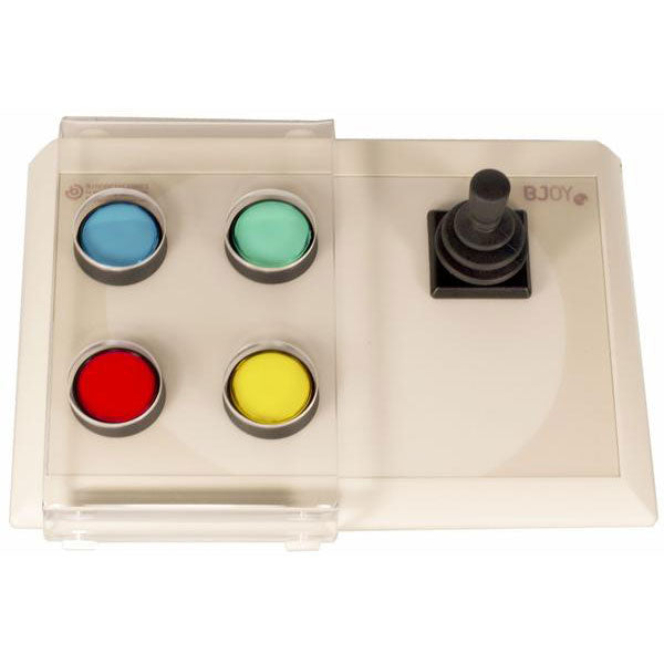 BJOY Stick - four buttons with progressive joystick and keyguard