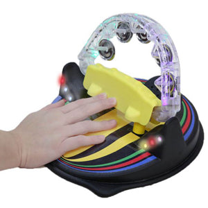 Lighted Musical Tambourine
