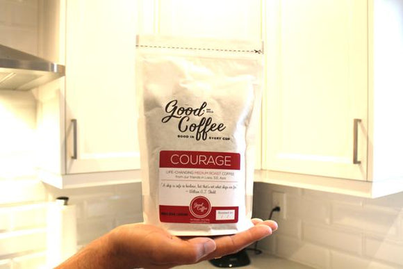 COURAGE - Medium Roast Coffee from Laos, S.E. Asia