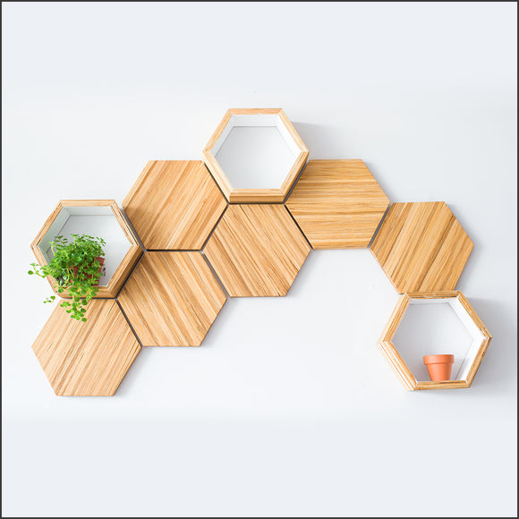 Bamboo Wall Decor Starter Set