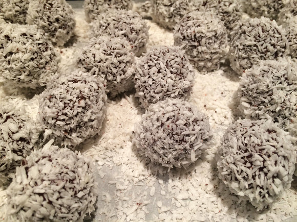 Flaked Coconut Truffles