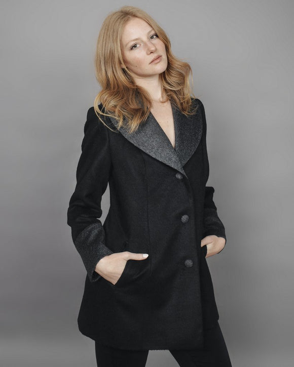 RUMI Alpaca Wool Coat