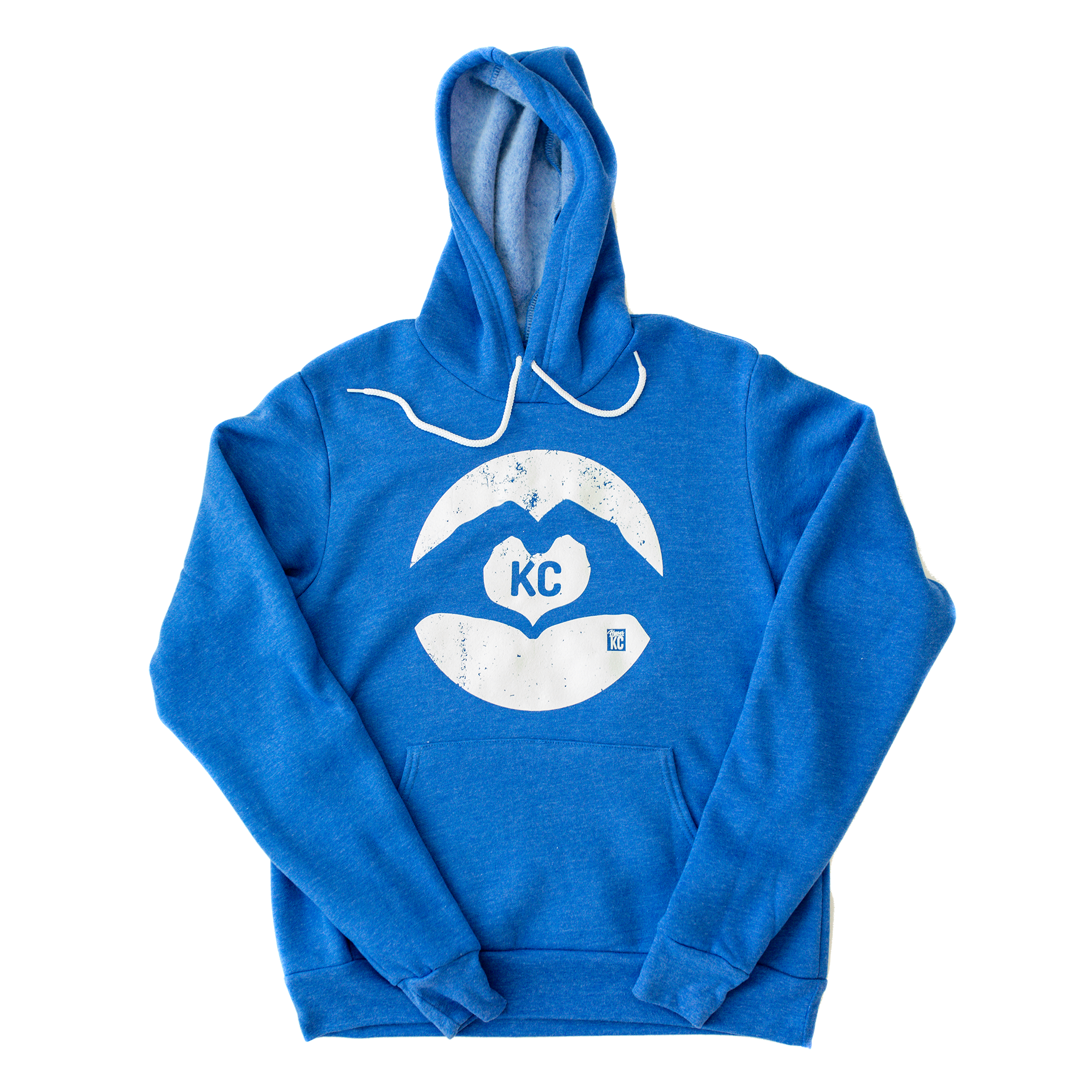 Heart | Heather Royal Unisex Hoodie
