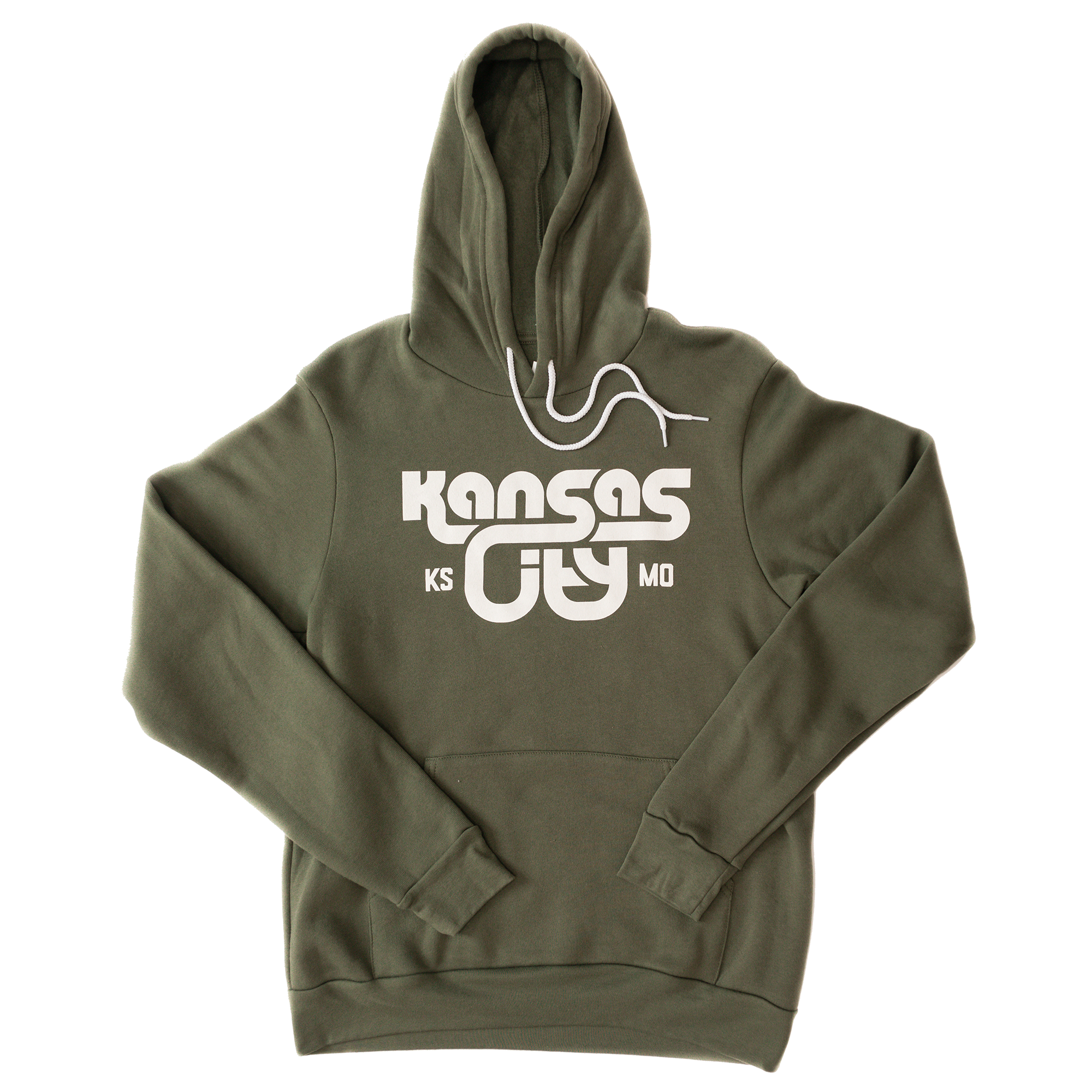 KCK/MO | Military Green Unisex Hoodie