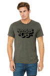 KCK/MO 3D | Military Green Unisex Triblend