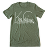 Skyline KC | Military Green Tri-Blend