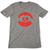 Heart KC | Grey Unisex Tri-Blend