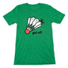 Get Off | Grass-Green Unisex Tri-Blend