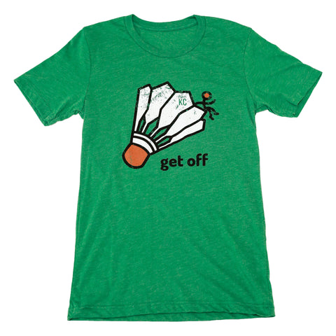 Get Off Grass-Green | Unisex Tri-Blend