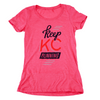 Keep KC Running | Berry Women's Tri-Blend
