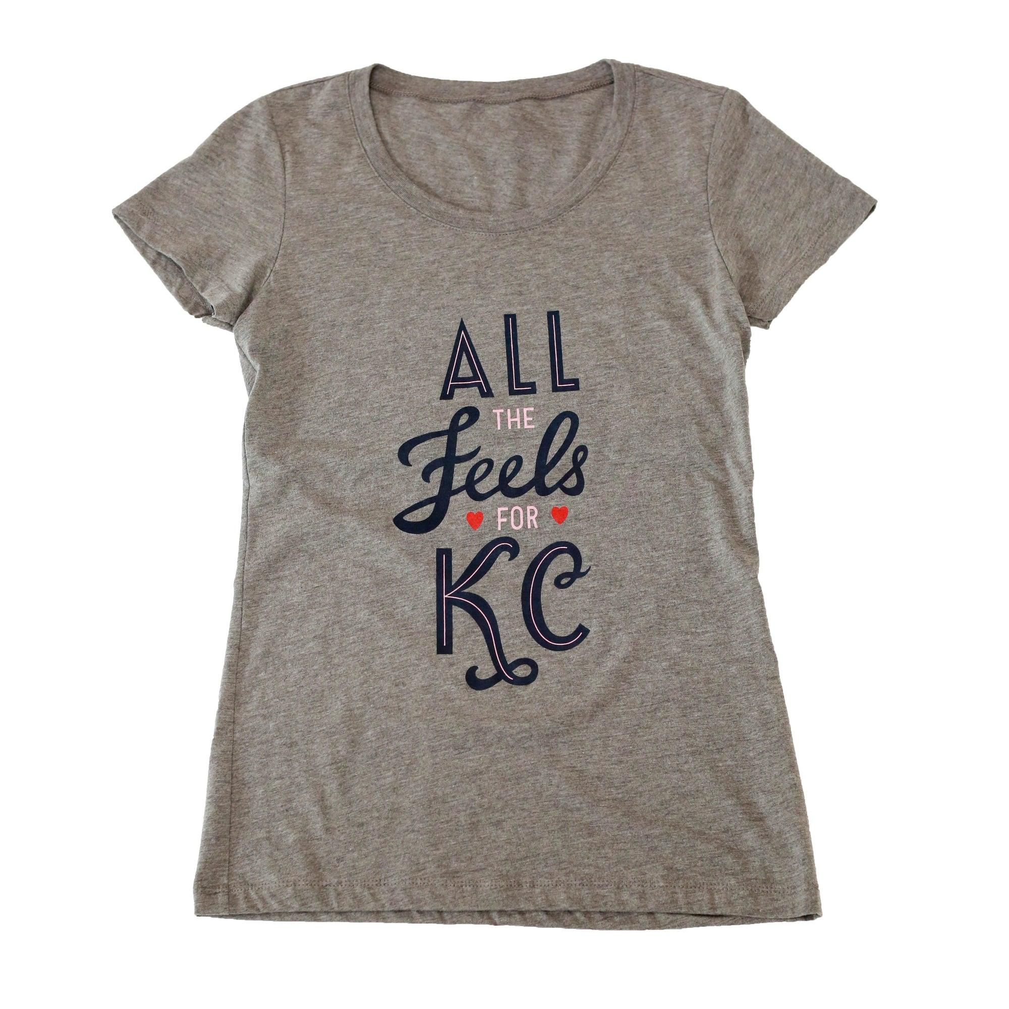 All The Feels | Grey Women's Tri-Blend