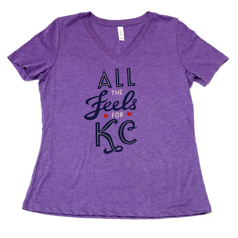 All The Feels | Purple Women's Relaxed-V