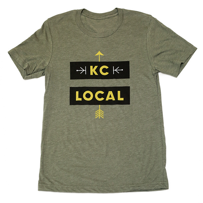 KC Local = | Military Green Unisex Triblend