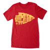 Arrowhead | Red Unisex Tri-Blend