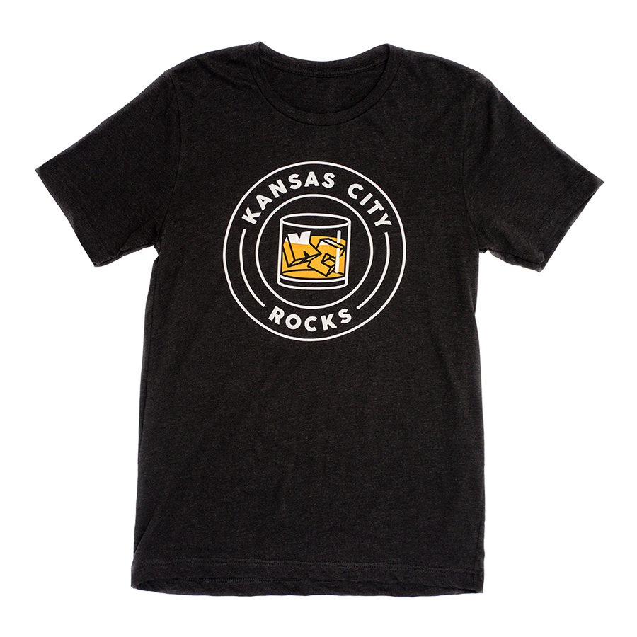 KC Rocks | Black Unisex Tri-Blend
