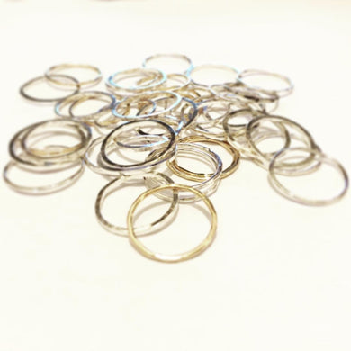 Thin 1mm Stacking Rings
