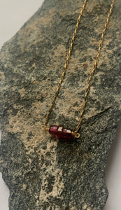 Garnet HEISHI Necklace