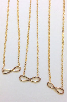 Floating Infinity Necklace